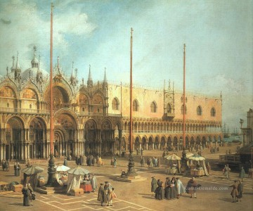 Piazza San Marco Looking Southeast Canaletto Ölgemälde
